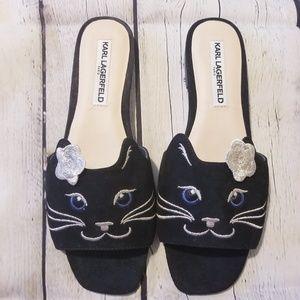 """Karl Lagerfeld Jouy """"Kitten Heels""""Brand New"""